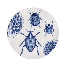 Bord Bugs The Wunderkammer (28,5 cm.) - Royal Delft