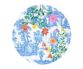 Bord Melamine My Secret Garden Toile (20,5 cm.) - Ginger