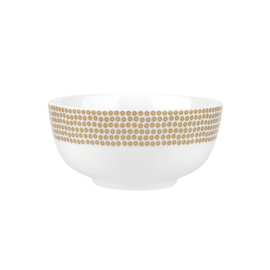 Schaal Glamour Sequin Gold (15 cm.) - Portmeirion Catherine Lansfield
