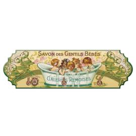 Handdoekrekje Savon des Gentils Bébés - Cartexpo