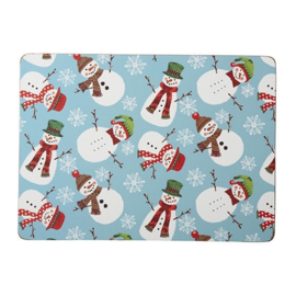 Placemats (4) Christmas Snowmen - Ulster Weavers
