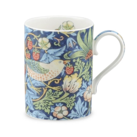 Mok Morris & Co Strawberry Thief Indigo/Mineral - Royal Worcester