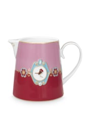 Kan Medallion Red Pink (900 ml.) - Pip Studio Love Birds