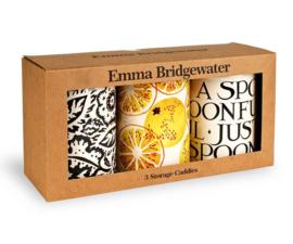 Set 3 Theeblikken Toast & Marmalade - Emma Bridgewater
