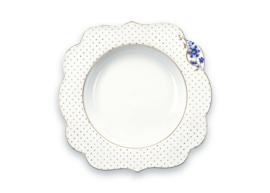Soepbord Royal White Blue (25 cm.) - Pip Studio