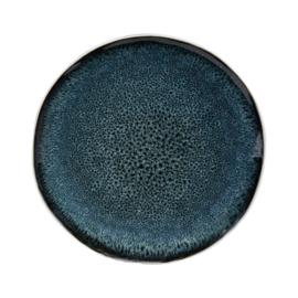 Ontbijtbord Grey/Blue Palette (20 cm.) - Jardin d'Ulysse