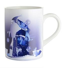 Mok Blue Christmas Santa - Alessi