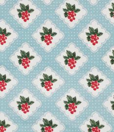 Oil Cloth Knijperzak Cherry Print - Ulster Weavers