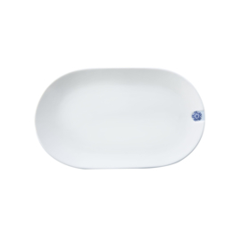 Ovaal Bord Touch of Blue (21,2 cm.) - Royal Delft