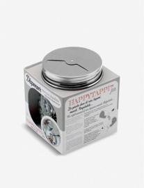 Voorraadpot met Doseerdeksel Happytappi (250 ml.) - IPAC Italy