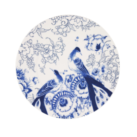 Onderbord Peacock Symphony (30,8 cm.) - Royal Delft
