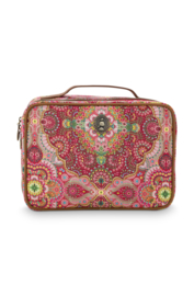 Beautycase Large Moon Delight Red (28 cm.) - Pip Studio