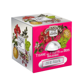 Blik Tisane Fruit des Bois (24 zakjes) - Provence d'Antan