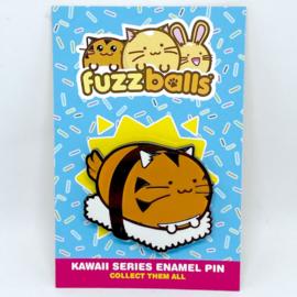 Pin 'Tiger Sushi' - Fuzzballs