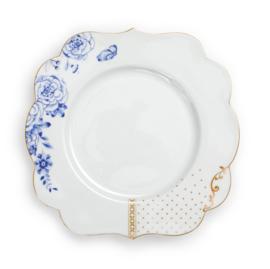 Ontbijtbord Royal White Blue (23,5 cm.) - Pip Studio