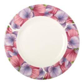 Ontbijtbord Sweet Pea (22,5 cm.) - Portmeirion Botanic Blooms