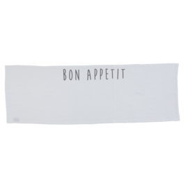Tafelloper Bon Appétit (150 cm.) - Côté Table