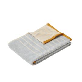 Handdoek Sand/Blue/Orange (100 cm.) - Hübsch