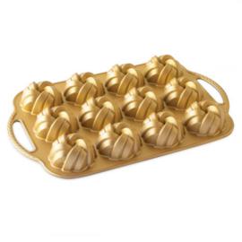 Mini Braided Bundt Gold Bakvorm - Nordic Ware