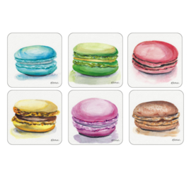 Onderzetters (6) - Pimpernel Macarons