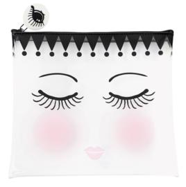 Tasje Eyes & Dots (22 cm.) - Miss Étoile