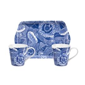 Mokken & Dienblaadje Spode Blue Room Sunflower - Pimpernel