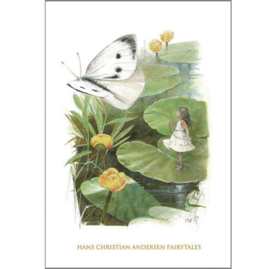 Kaart met Envelop Thumbelina (A5) - Koustrup & Co.