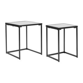 2 Tafels Vernis Gris - Sema Design