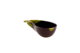 Saladeschaal Aubergine (26 cm.) - Bordallo Pinheiro