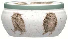 Geurkaars in Blik What a Hoot (8,9 cm.) - Wrendale Designs