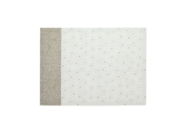 Theedoek Dotted Flower Khaki - Pip Studio Early Bird