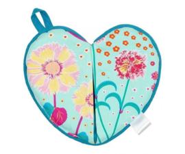 Pannenlap Oriental Blossom Heart - Ginger
