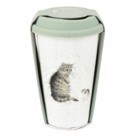 Travel Mug Cat (0,31 l.) - Wrendale Designs