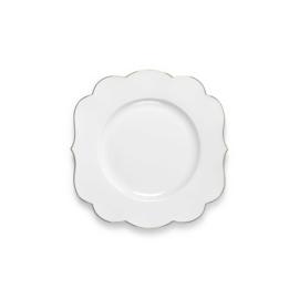 Ontbijtbord Royal White (23,5 cm.) - Pip Studio