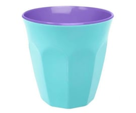 Beker Melamine Pastel Blue (200 ml.) - Ginger