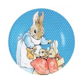 Bord Peter Rabbit Blue (20 cm.) - Petit Jour Paris