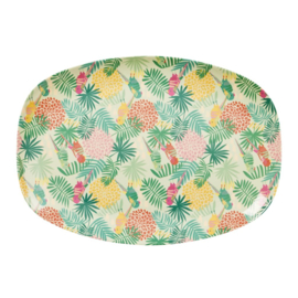 Melamine Bord Tropical (30 cm.) - Rice