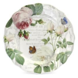 Ontbijtbord (20 cm.) RHS Roses - Royal Worcester