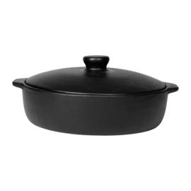Ovenschaal met Deksel Denvi Black (26 cm.) - Côté Table