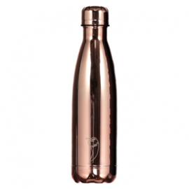 Thermosfles Rose Gold Chrome Edition (500 ml) - Chilly's Bottle