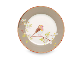 Ontbijtbord Khaki (21 cm.) - Pip Studio Early Bird