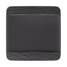 Vierkant Dinerbord (28 cm.) - Villeroy & Boch Manufacture Rock