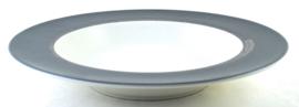 Diep Bord (24 cm.) - Noritake Ambience Charcoal