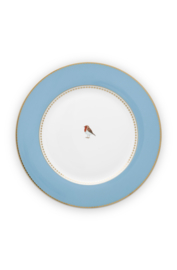 Dinerbord Blue (27 cm.) - Pip Studio Love Birds