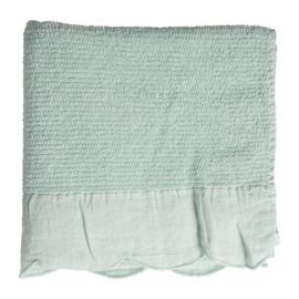 Gastendoek Sea Green (50 cm.) - Côté Table