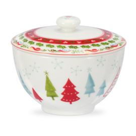 Suikerpot (0,30 l.) - Portmeirion Christmas Wish
