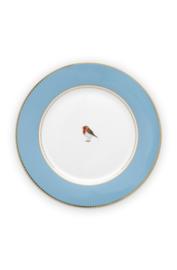 Ontbijtbord Blue (21 cm.) - Pip Studio Love Birds