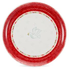 Dinerbord (28 cm.) - Portmeirion Christmas Wish