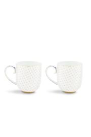 Cadeauset 2 Mokken Royal White (260 ml.) - Pip Studio