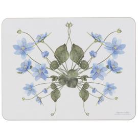 Placemat Blue Anemone (38 cm.) - Koustrup & Co.